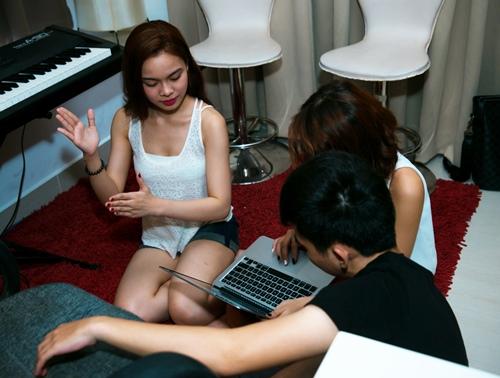 giang hong ngoc thuc trang dem de chuan bi cho the remix - 3