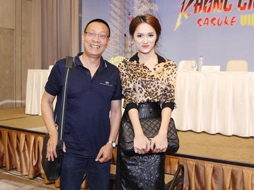 huong giang idol thich thu khi gap go mc lai van sam - 1