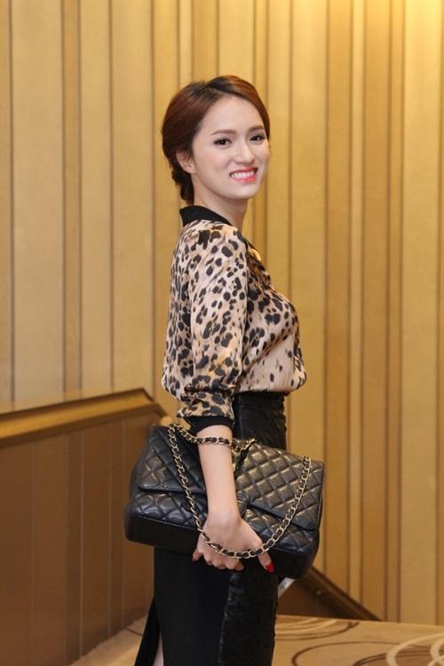 huong giang idol thich thu khi gap go mc lai van sam - 2