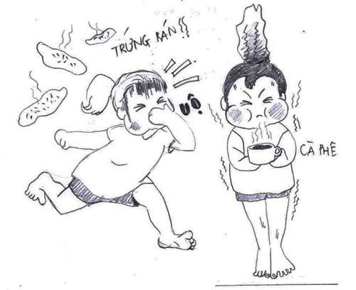 'nhat ky mang thai' bang tranh hom hinh cua me meo - 9