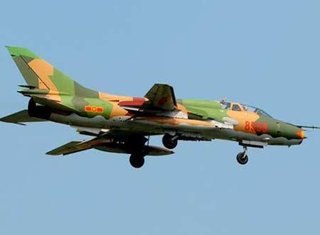 su-22 roi o binh thuan: hai may bay con han su dung - 1
