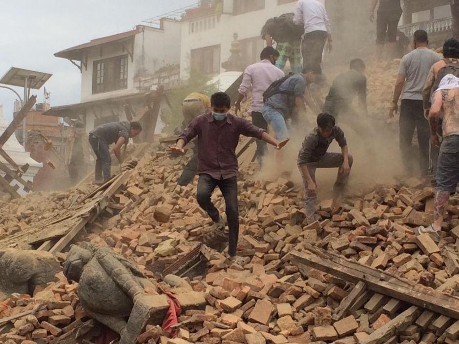 dong dat kinh hoang o nepal: cai chet duoc bao truoc - 2