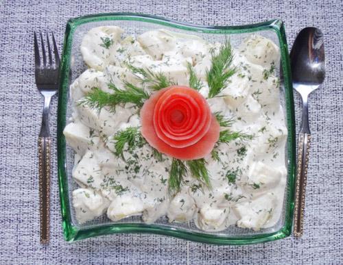 salad khoai tay tuoi ngon, hap dan - 12