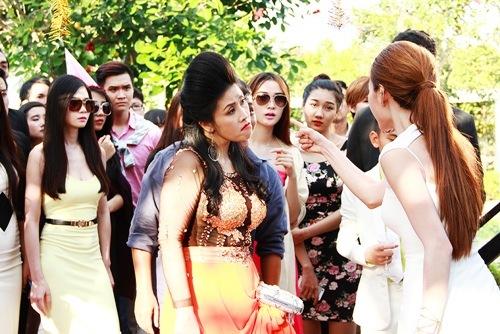 """ngan khanh bat ngo cho kieu oanh """"an"""" 7 cai tat - 1"""