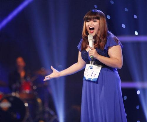 my nhan dau troc bi loai khoi top 10 vietnam idol - 5