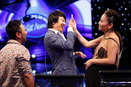 my nhan dau troc bi loai khoi top 10 vietnam idol - 2