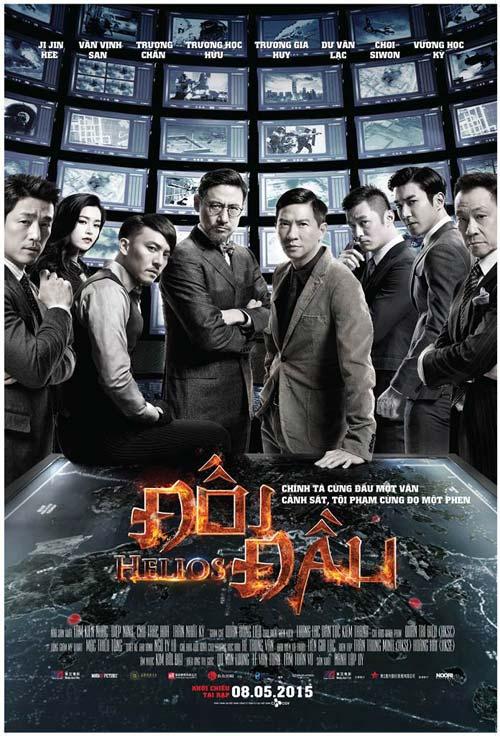 """phim hanh dong han quoc - hong kong """"helios"""" tung trailer kich tinh - 1"""