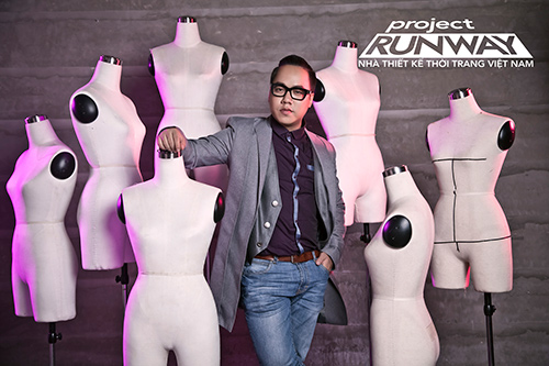 """truong ngoc anh tiep tuc """"cam trich"""" project runway 2015 - 5"""