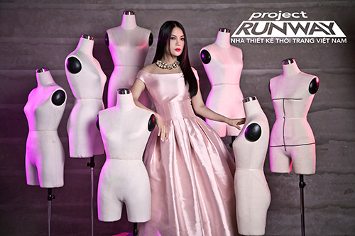 """truong ngoc anh tiep tuc """"cam trich"""" project runway 2015 - 4"""