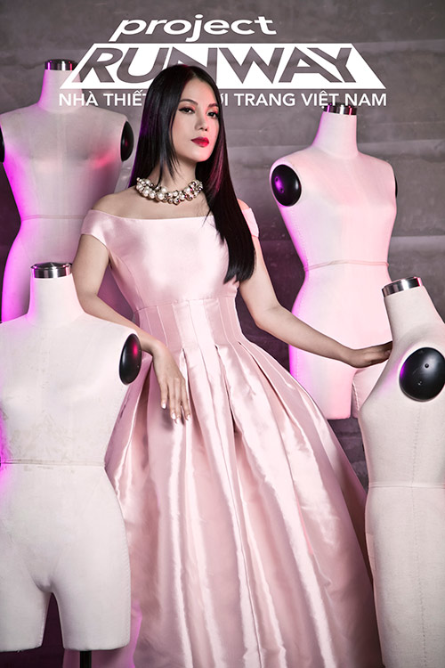 """truong ngoc anh tiep tuc """"cam trich"""" project runway 2015 - 2"""