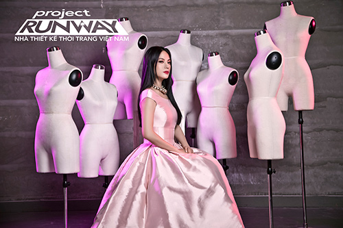 """truong ngoc anh tiep tuc """"cam trich"""" project runway 2015 - 3"""