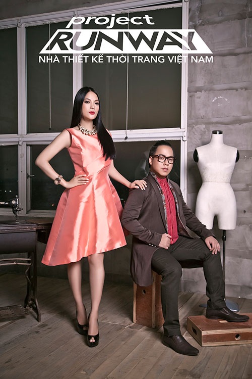 """truong ngoc anh tiep tuc """"cam trich"""" project runway 2015 - 6"""