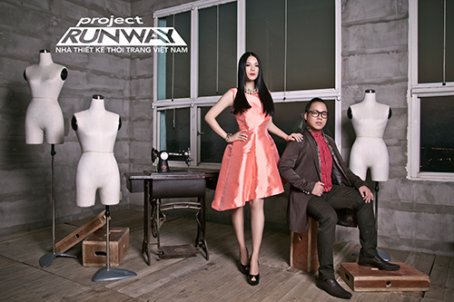 """truong ngoc anh tiep tuc """"cam trich"""" project runway 2015 - 7"""