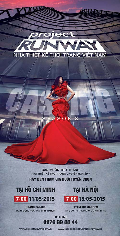 """truong ngoc anh tiep tuc """"cam trich"""" project runway 2015 - 1"""
