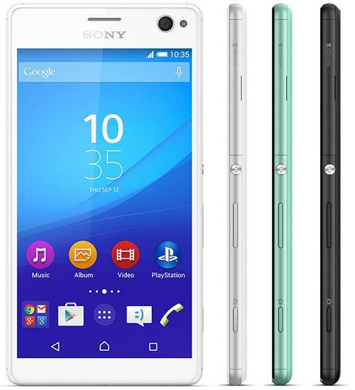 """sony chinh thuc gioi thieu smartphone chuyen """"tu suong"""" xperia c4 - 2"""