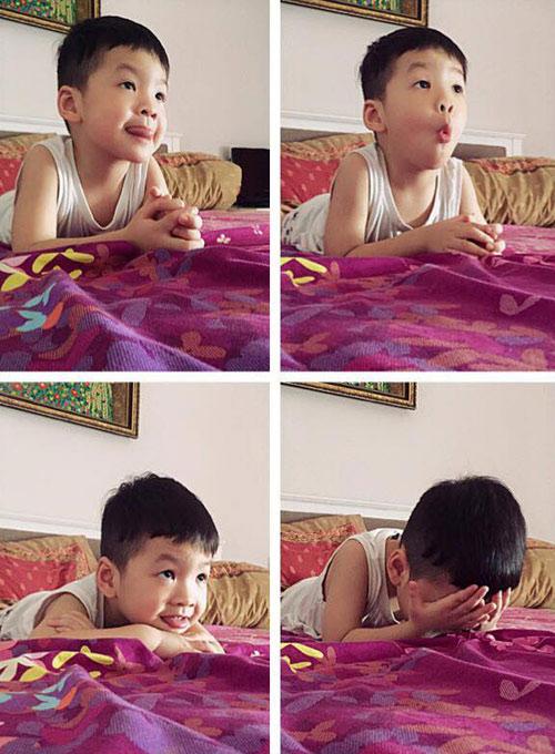 """cong vinh """"he lo"""" con gai khien fan to mo - 10"""
