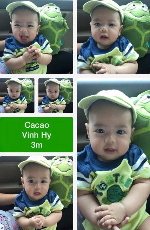 """cong vinh """"he lo"""" con gai khien fan to mo - 9"""