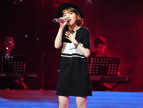 "the voice 2015: my tam tro tai ""du"" thi sinh ve doi - 12"