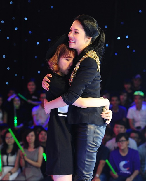 "the voice 2015: my tam tro tai ""du"" thi sinh ve doi - 13"