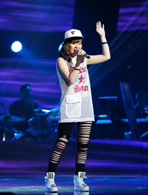 "the voice 2015: my tam tro tai ""du"" thi sinh ve doi - 4"