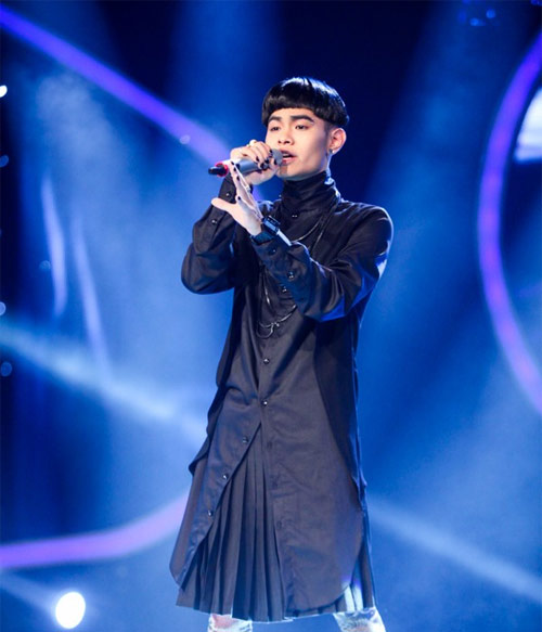 hotboy viet kieu toa sang trong dem thi top 5 nam idol - 5