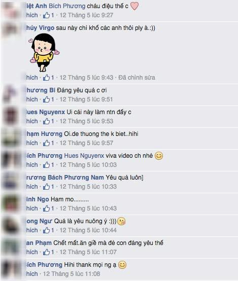 """co be tuyen quang 5 tuoi co guong mat hotgirl gay """"sot"""" - 2"""