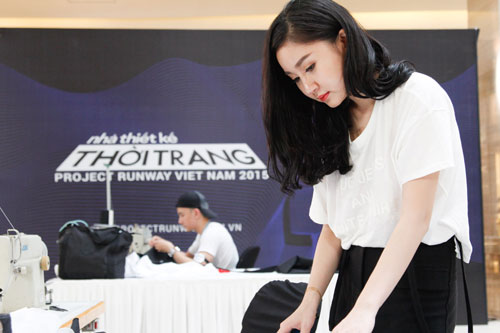 project runway 2015: lo dien 3 thi sinh nu xinh nhu hot girl - 1