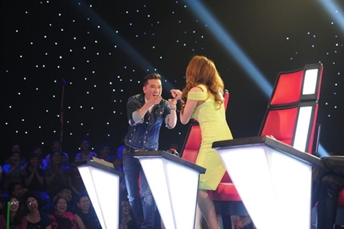 """the voice 2015: my tam """"gianh giat"""" thi sinh 16 tuoi - 2"""