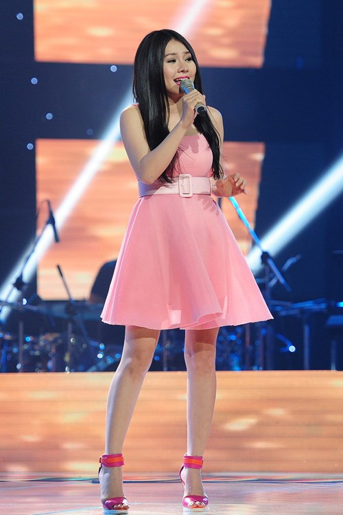 """the voice 2015: my tam """"gianh giat"""" thi sinh 16 tuoi - 4"""