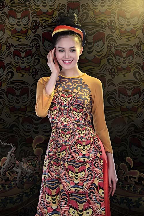 Áo dài Việt Nam xuất hiện trong bảo tàng New York-6