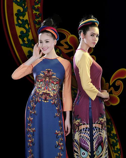 Áo dài Việt Nam xuất hiện trong bảo tàng New York-9