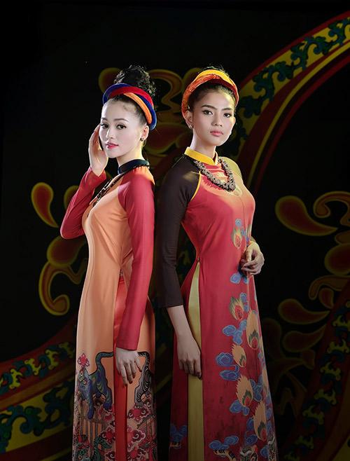 Áo dài Việt Nam xuất hiện trong bảo tàng New York-10