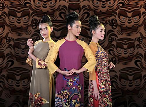 Áo dài Việt Nam xuất hiện trong bảo tàng New York-2