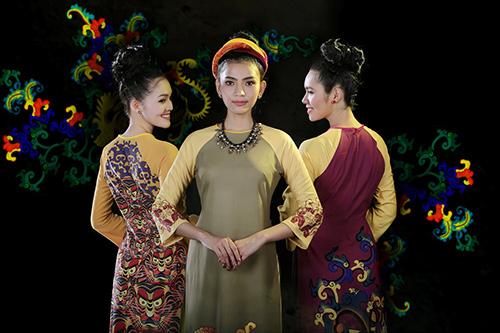 Áo dài Việt Nam xuất hiện trong bảo tàng New York-3