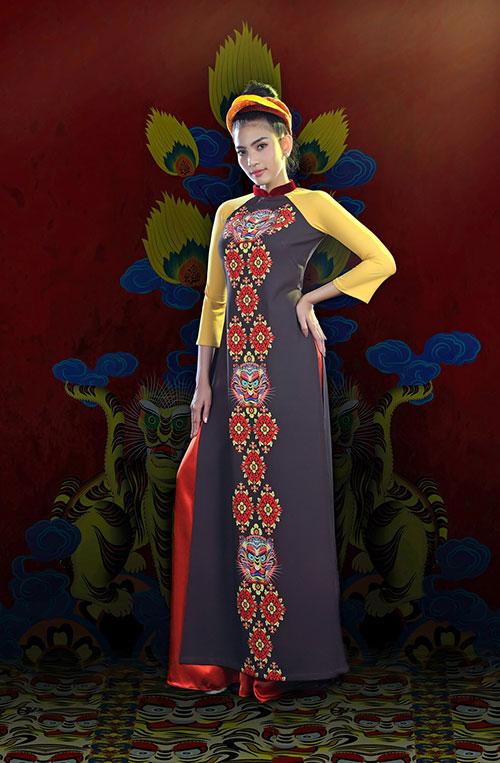 Áo dài Việt Nam xuất hiện trong bảo tàng New York-4