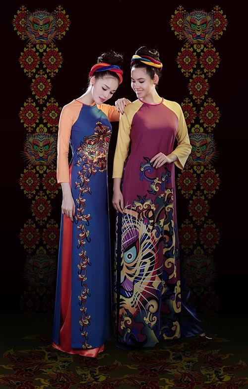 Áo dài Việt Nam xuất hiện trong bảo tàng New York-5