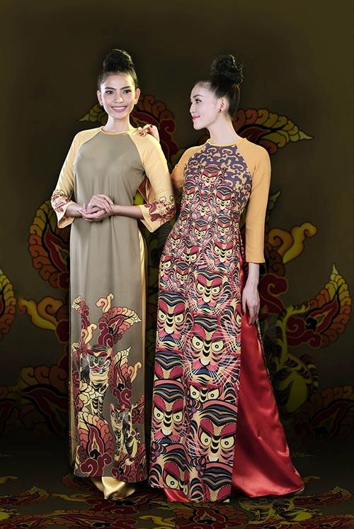 Áo dài Việt Nam xuất hiện trong bảo tàng New York-7