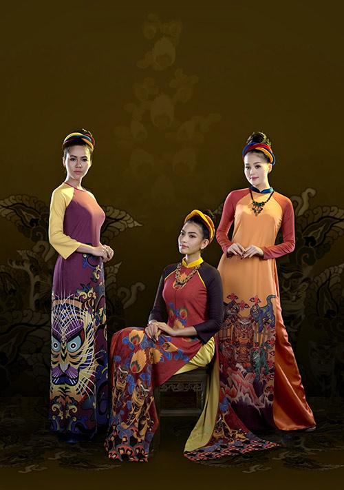 Áo dài Việt Nam xuất hiện trong bảo tàng New York-8