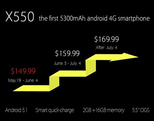 "bluboo x550: dien thoai android lollipop voi pin ""quai vat"" 5300 mah - 9"