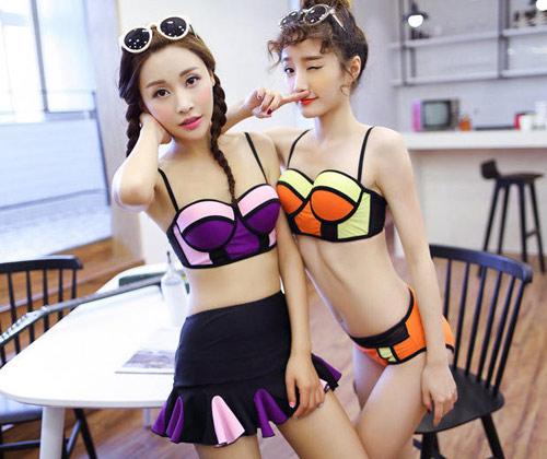 """""""sieu vong 3"""" lan huong lang xe mot bikini hot nhat 2015 - 7"""