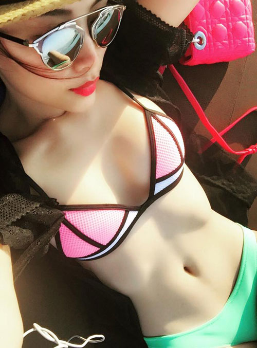 """""""sieu vong 3"""" lan huong lang xe mot bikini hot nhat 2015 - 2"""