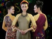 Ảnh đẹp Eva - Á hậu Hoàng My, Trương Thị May duyên dáng áo dài xưa