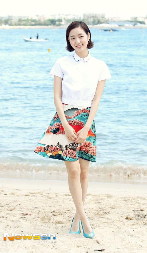 "jeon ji hyun khoe sac ""sang chanh"" tren tham do cannes - 7"