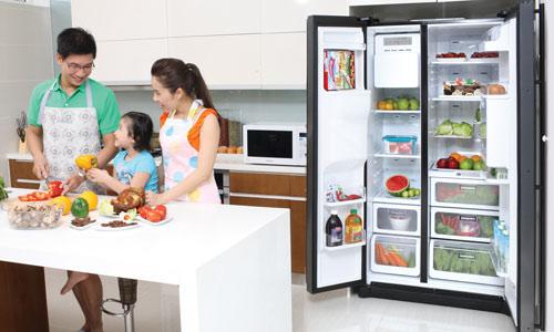 Mẹo sử dụng tủ lạnh để tiết kiệm điện, kéo dài tuổi thọ tủ lạnh-1