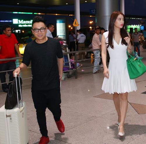 Trương Ngọc Ánh đi xe sang, xách túi trăm triệu ở sân bay-6