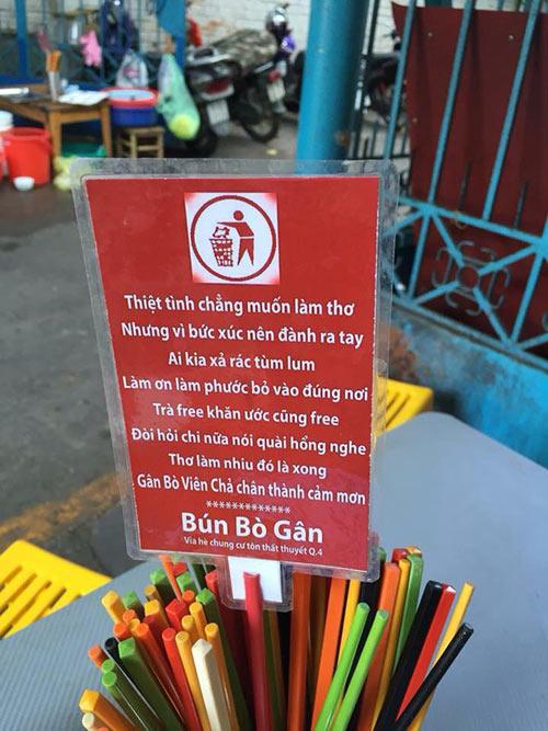 """Ăn chiều ở hàng bún bò gân """"bảng nội quy"""" nổi tiếng nhất Sài Thành-3"""