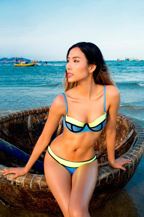 """""""sieu vong 3"""" lan huong lang xe mot bikini hot nhat 2015 - 6"""