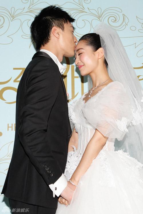 Ngắm đám cưới lung linh của người đẹp Chân Hoàn truyện-3