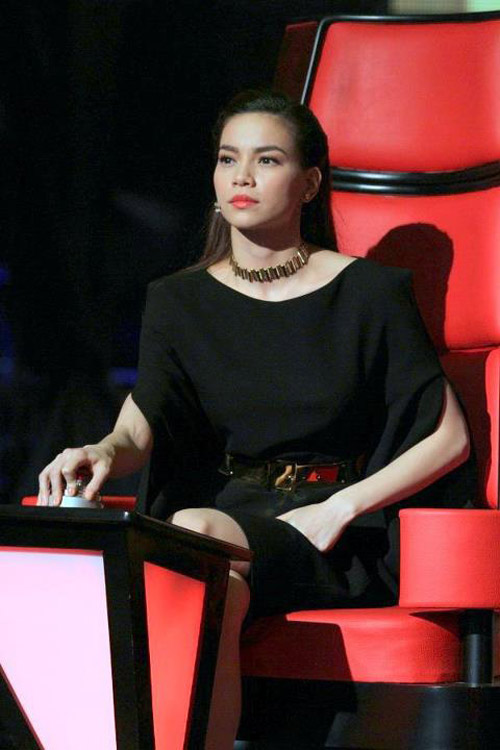 Mỹ Tâm không hề thua kém Hà Hồ trên ghế nóng The Voice-13