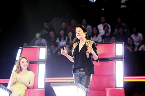 Mỹ Tâm không hề thua kém Hà Hồ trên ghế nóng The Voice-4